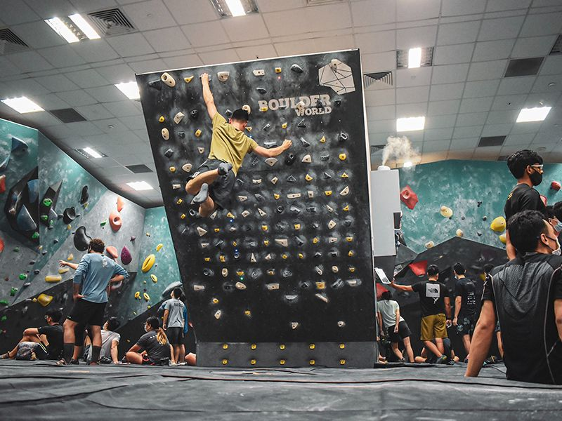 Boulder World Day Pass with Free Shoes Rental