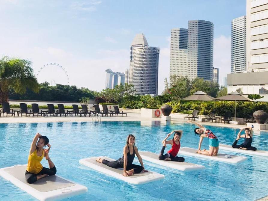 FloatFit Yoga or FloatFit HIIT by Skyline Aqua